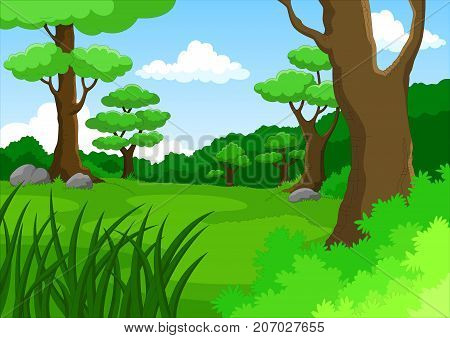 Dense forest animals clipart in ai, svg, eps or psd | download more vectors, cliparts and. Vector Cartoon Vector Photo Free Trial Bigstock