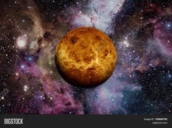 Solar System - Venus. Image & Photo (Free Trial) | Bigstock