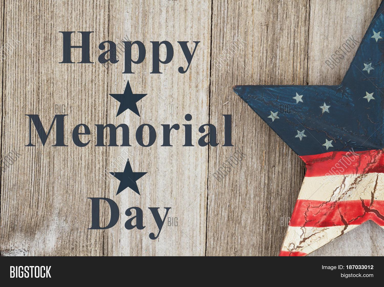 Happy Memorial Day Greeting Usa Image Amp Photo