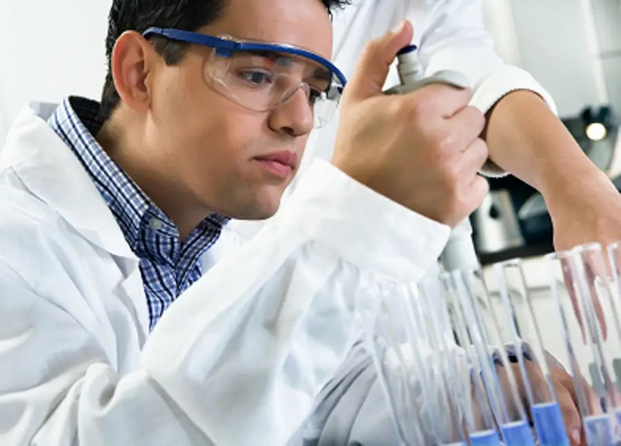Science classes are capped at 16 students so that they may perform practical experiments every class.
