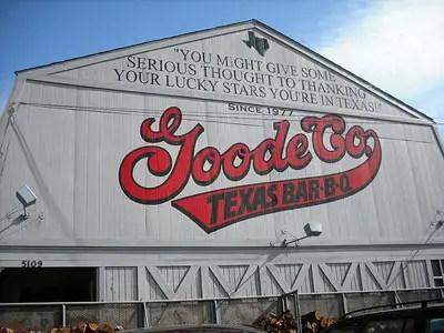 Goode Co. Texas BBQ, Houston
