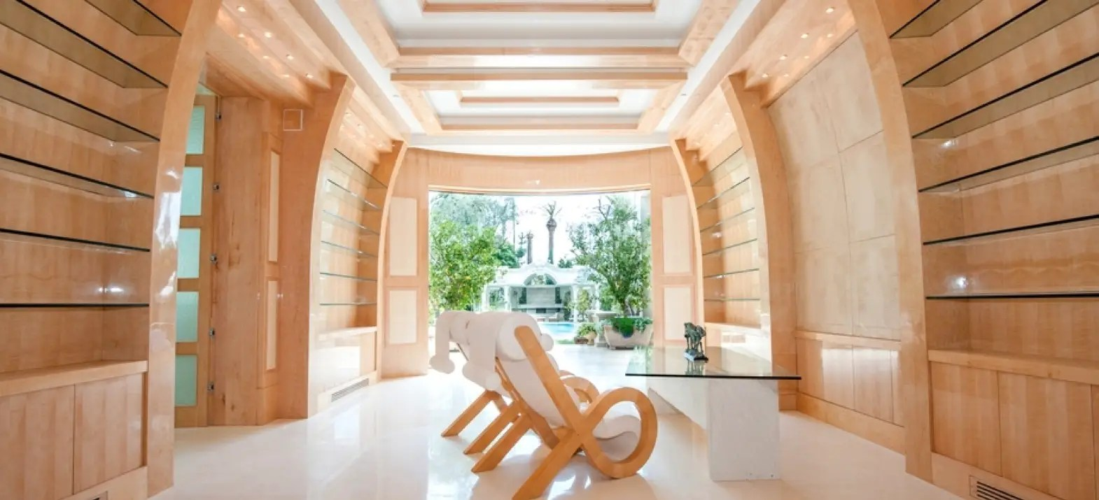 The home took designer Mohamed Hadid 15 months to create.