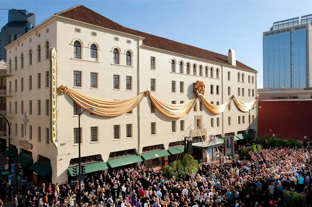 The dedication of the Church of Scientology in Sacramento, Calif., was attended by more than 2,500 Scientologists, and their guests.