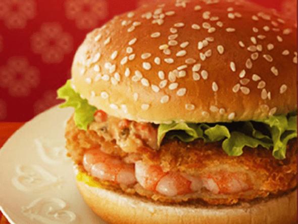 McDonald's Ebi Filet-O