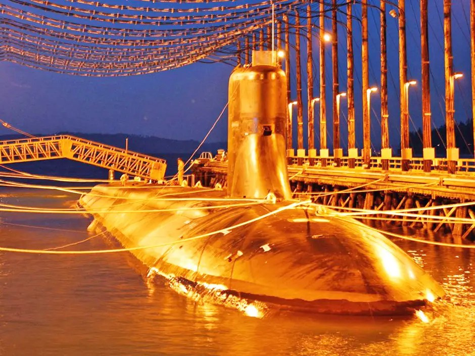 Submarine USS Jimmy Carter