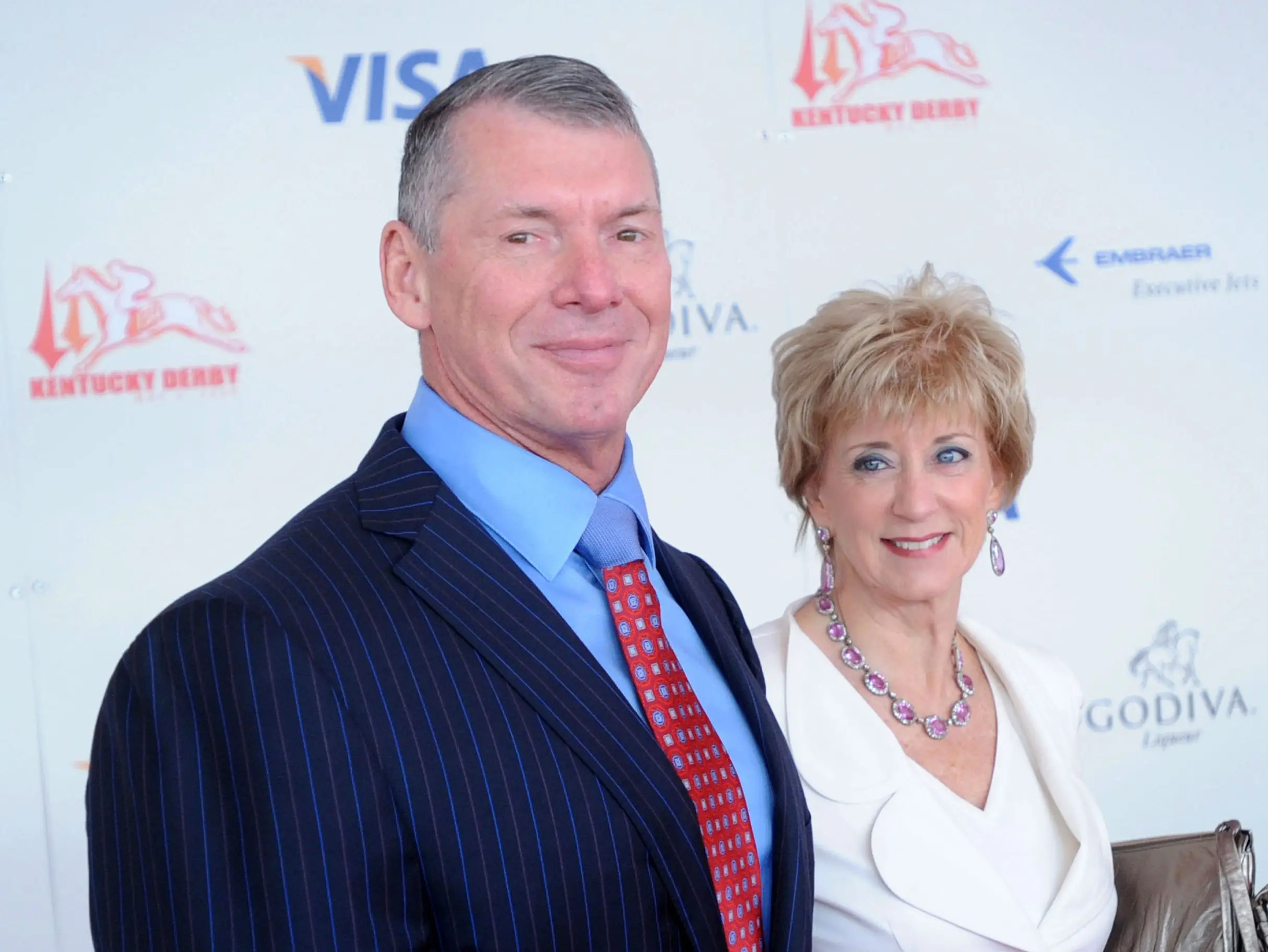 ROMNEY – Vince and Linda McMahon: $159,910