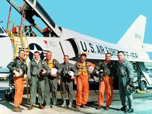 The Mercury Seven Astronauts Business Insider