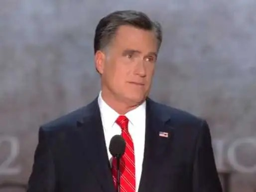 Mitt Romney Convention Speech