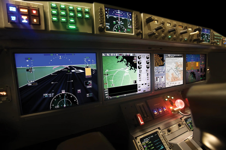 """Gulfstream llama a su sistema PlaneView II 'el más avanzado de pilotaje de la existencia. """""""