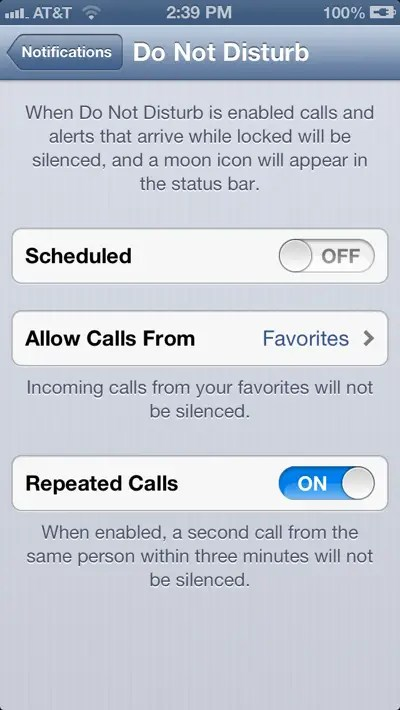 Take advantage of iOS 6's 'Do Not Disturb' feature.