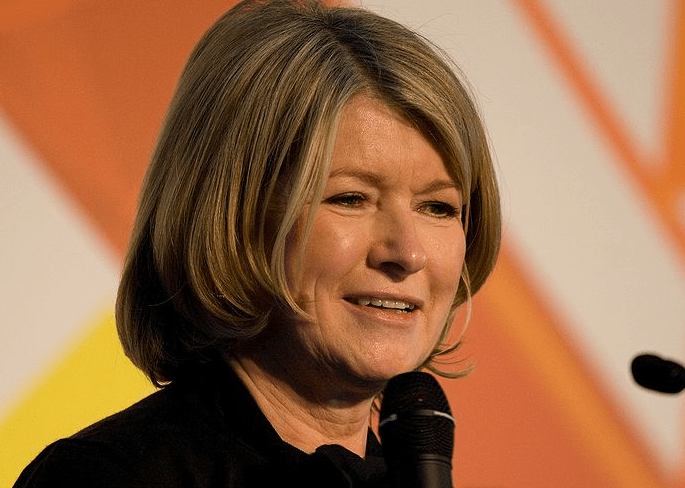 Martha Stewart, founder of Martha Stewart Living Omnimedia