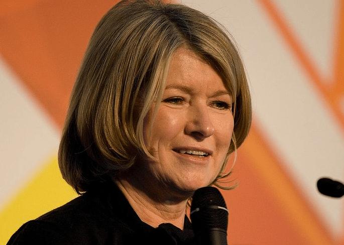Martha Stewart, founder of Martha Stewart Living Omnimedia