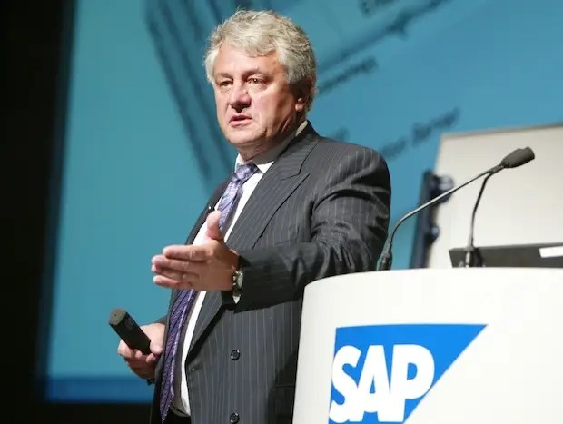 SAP's Hasso Plattner: Remodeling a software giant.
