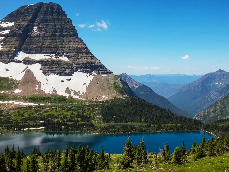 Montana, mountains, west