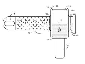 Apple's IWatch Patent Diagrams  Business Insider