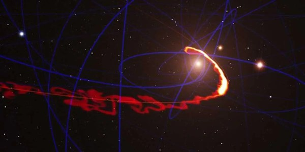 Milky Way Black Hole Destroying Gas Cloud - Business Insider