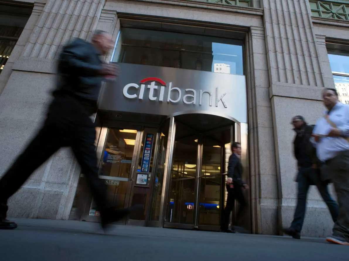 14. Citigroup is held by 29 funds