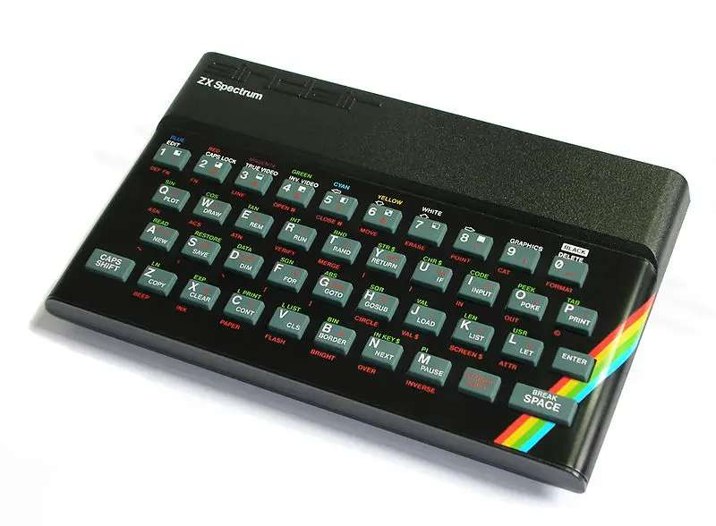 We loved the ZX Spectrum, a personal home computer that featured classics like Atic Atac and Manic Miner.