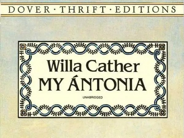 "NEBRASKA: ""My Ántonia"" by Willa Cather"
