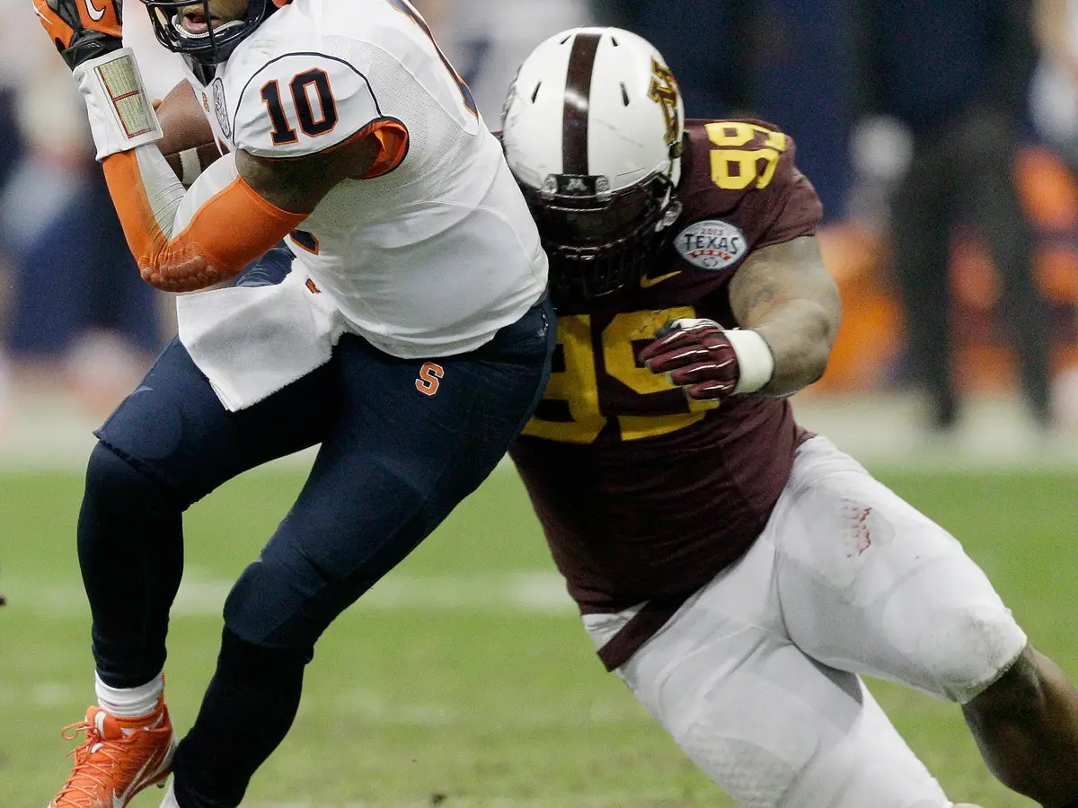 24. RaShede Hageman, defensive tackle (Minnesota)