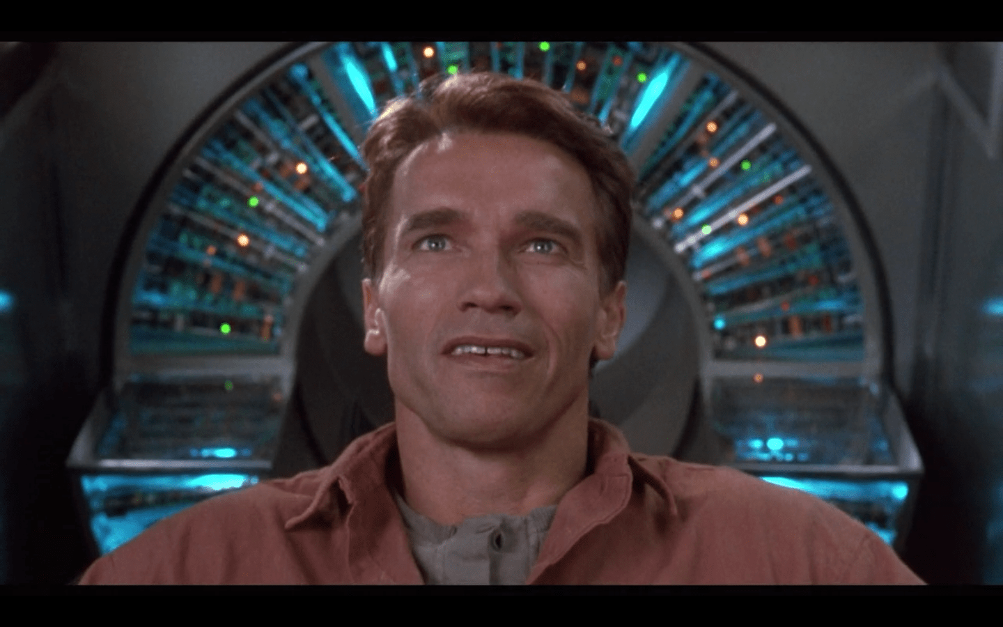 "Dick's short story on the topic, ""We Can Remember It For You Wholesale,"" became the classic film Total Recall. Main character Douglas Quaid can't tell if he's a regular person pretending to be a secret agent, or a secret agent pretending to be a regular person."