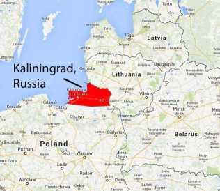 exclave Kaliningrad