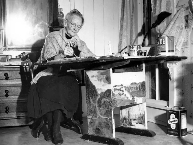 Anna Mary Robertson Moses, better known as Grandma Moses, began her prolific painting career at 78. In 2006, one of her paintings sold for $1.2 million.