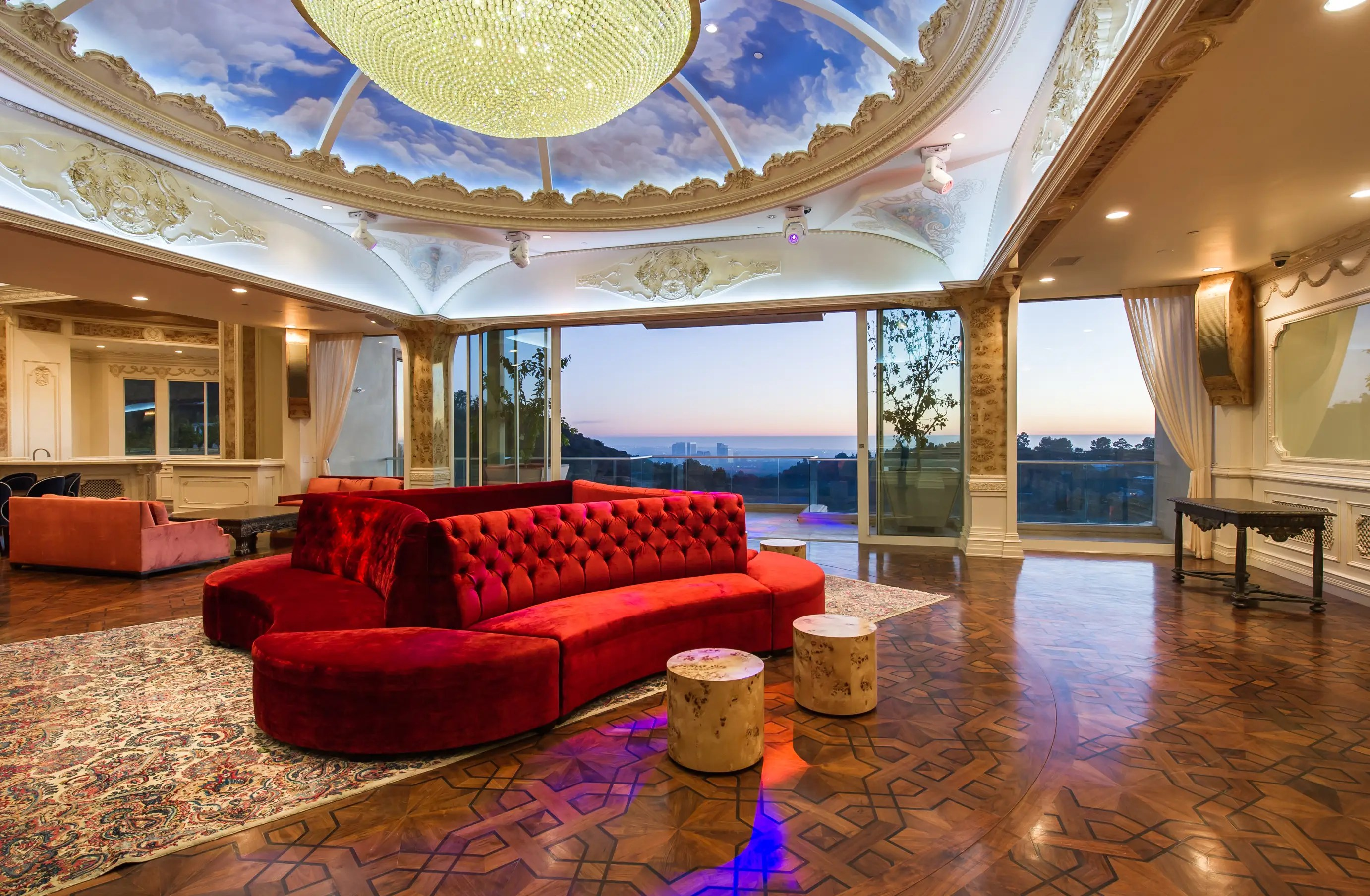 With 53,000 square feet of space, this mansion is truly gigantic.