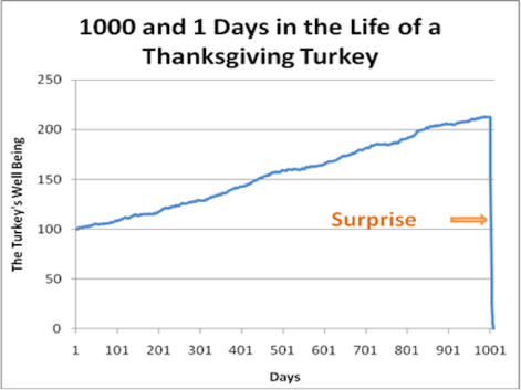 A Complete Paradigm Shift for the Turkey