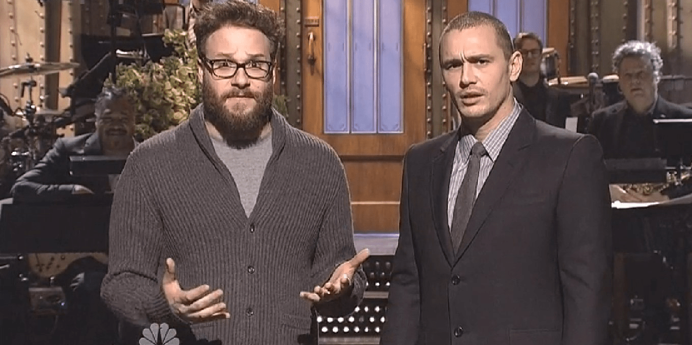 seth rogen james franco snl