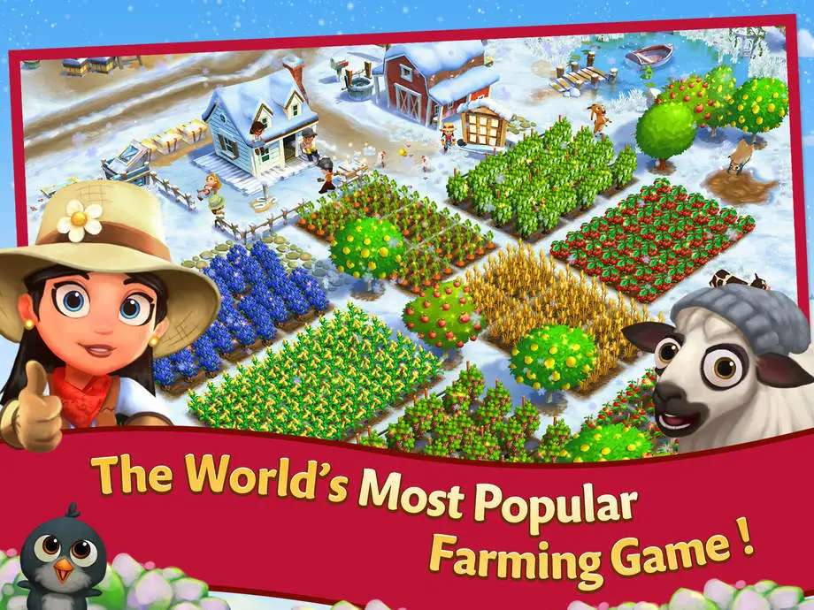 FarmVille 2 is the sequel to the wildly popular FarmVille game.