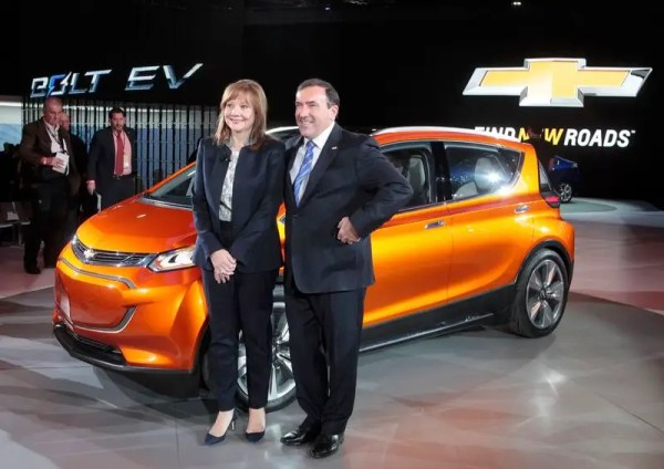 GM Shows Bolt Electric Vehicle Concept With 200-mile ...