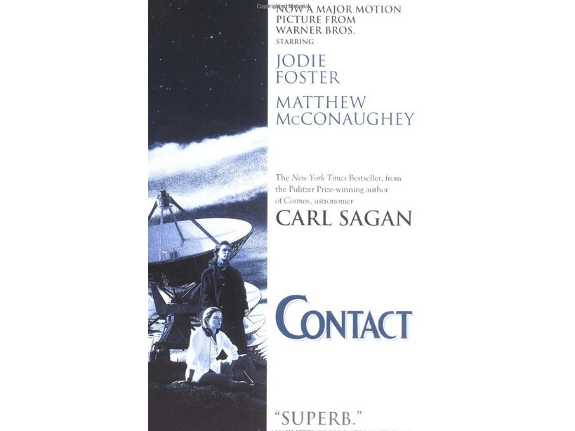 science fiction book carl sagan