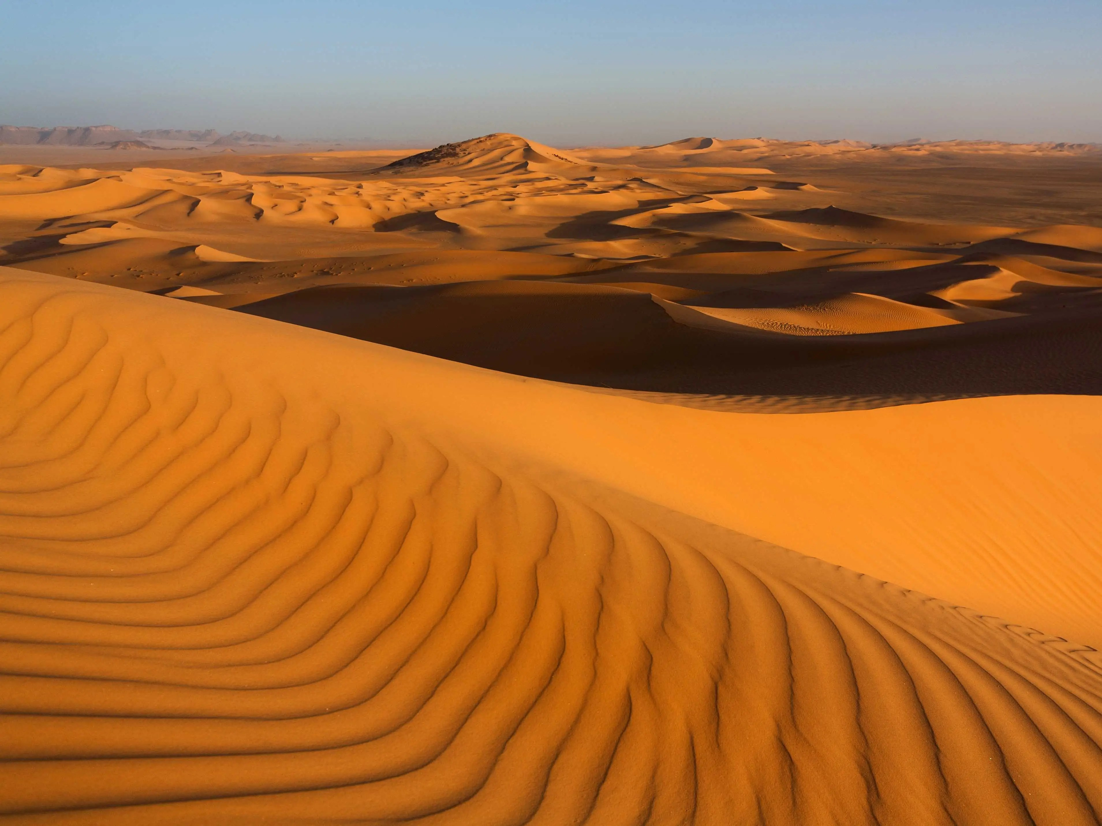 Explore the Sahara desert, the largest desert on the African continent.