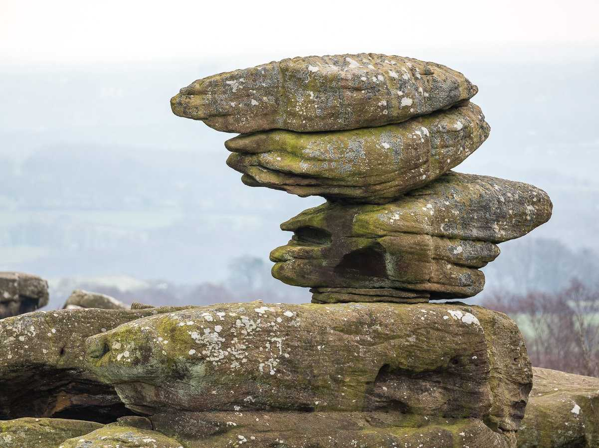 Brimham Rocks, England