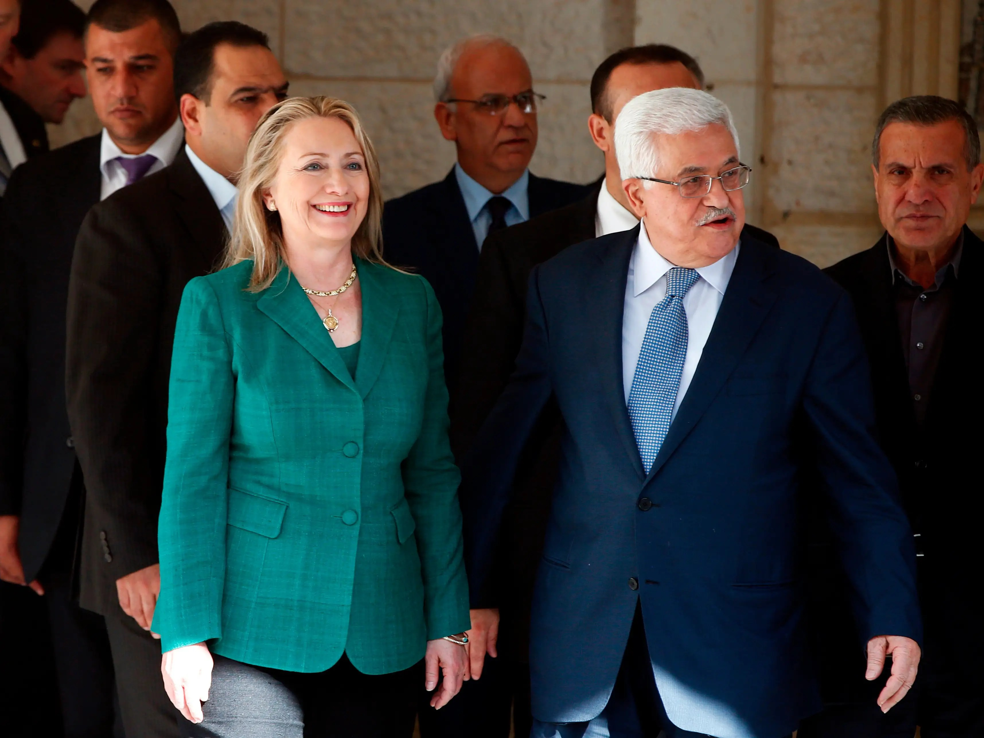 Obama dispatched Clinton to broker a ceasefire between Israel and Hamas, paving the way for peace talks.