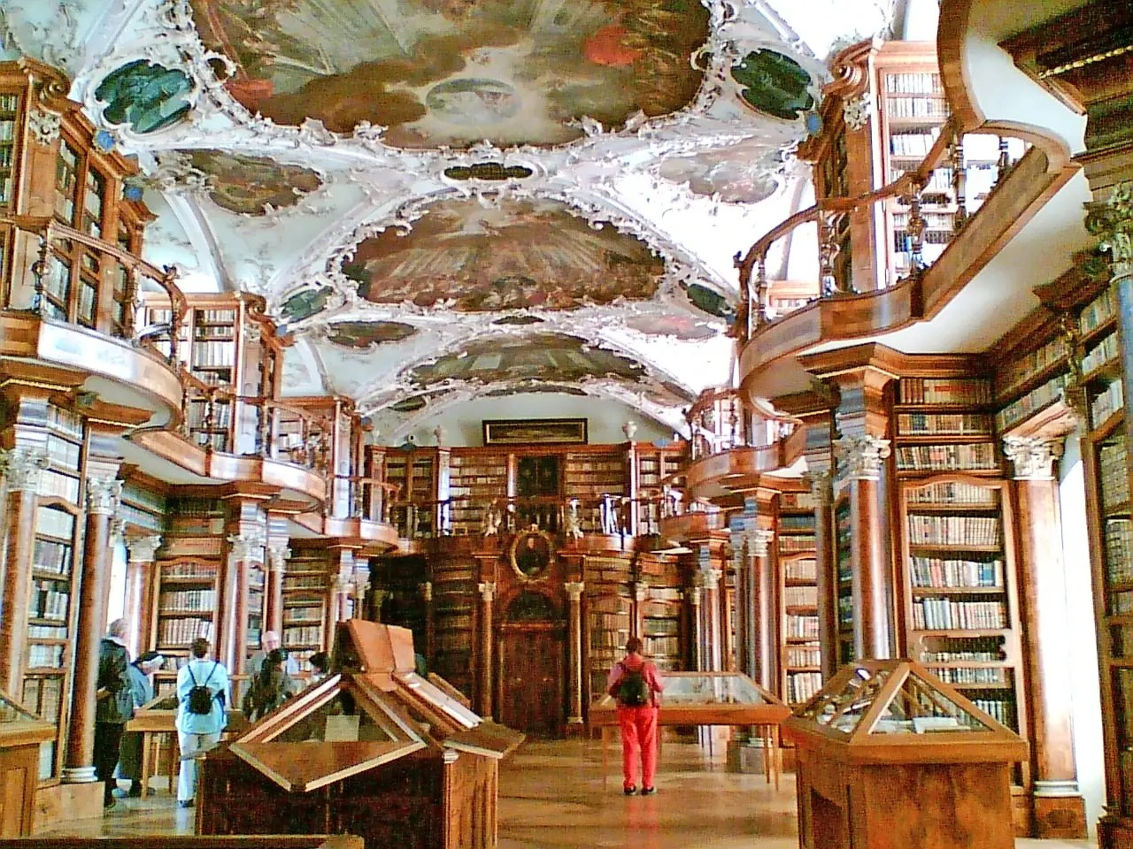 Dating back to the 8th century, the Abbey of St. Gallen, Switzerland, is an incredibly well-preserved UNESCO World Heritage site that houses a spectacular Baroque library. It's the oldest library in the country and has original manuscripts dating back to the time the abbey was founded.