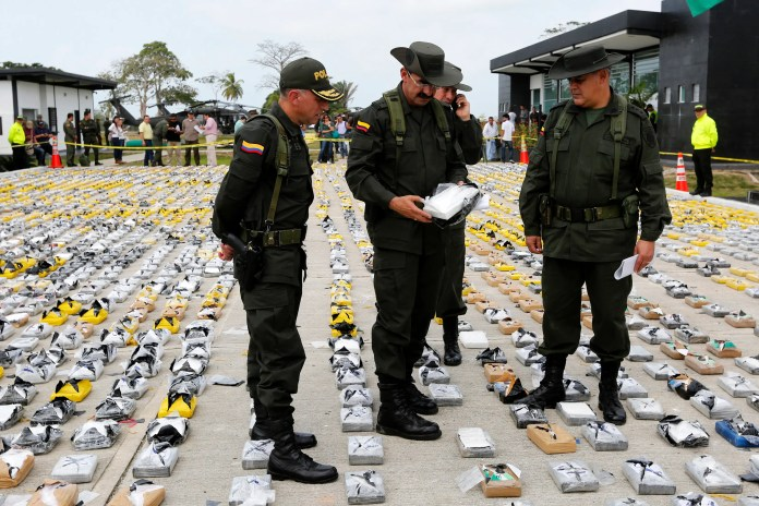Colombia cocaine sinaloa