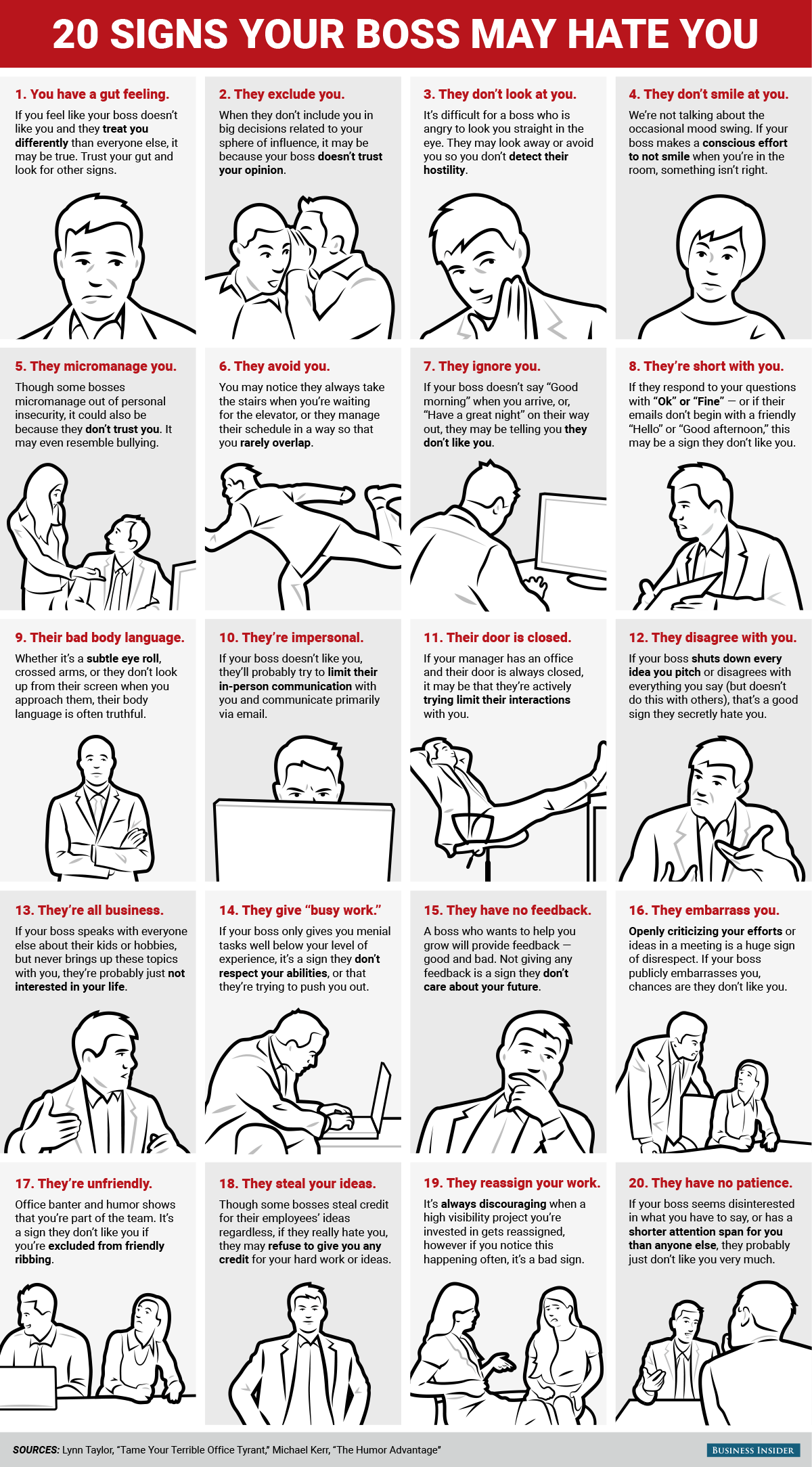 Signs Your Boss Actually Hates You