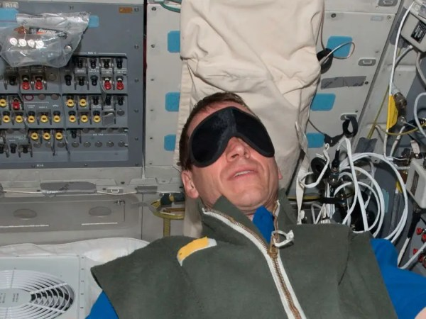 How do astronauts sleep in space Business Insider