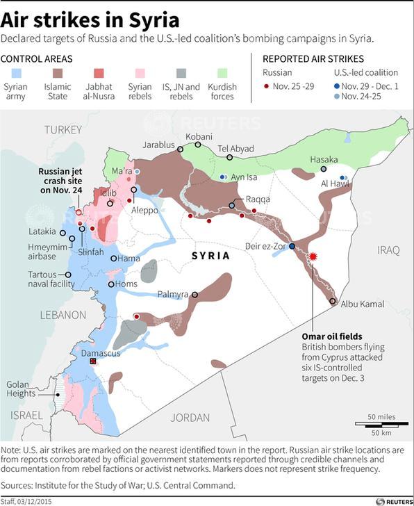 Syria airstrikes Dec 3 2015