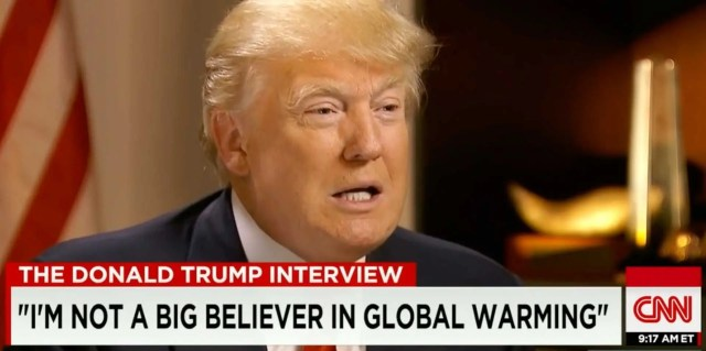 Image result for trump on climate change