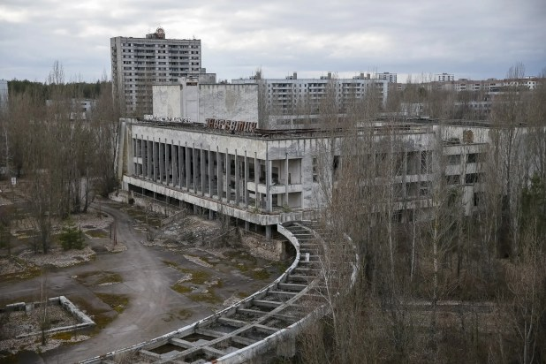 The city of Pripyat, located a little over a mile from the nuclear plant, was inhabited mostly by power plant workers and their families.