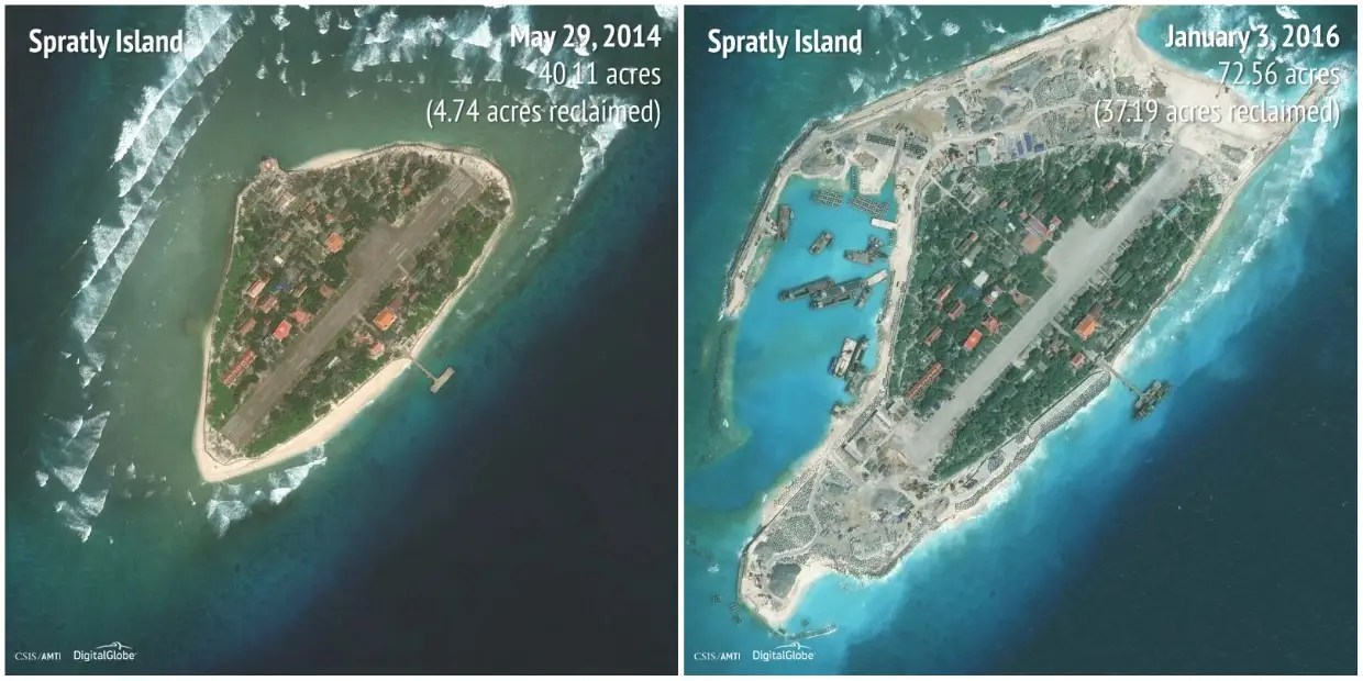 Spratly Islands: 2014 - 2016