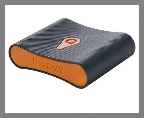 A luggage tracker
