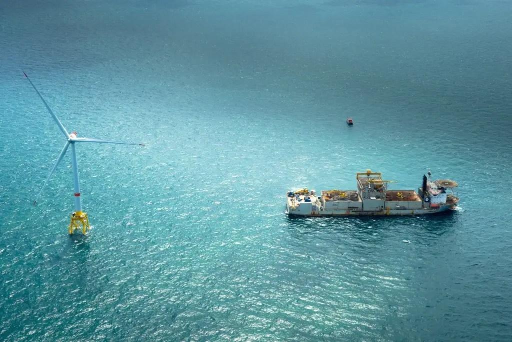 Wind Offshore Project 2010 Belwind Wind Farm Belgium Haliade 50 6MV For BELWIND HALIADE 1024x683