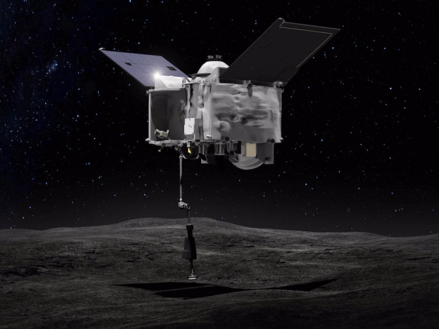 osiris rex probe asteroid bennu sampling nasa
