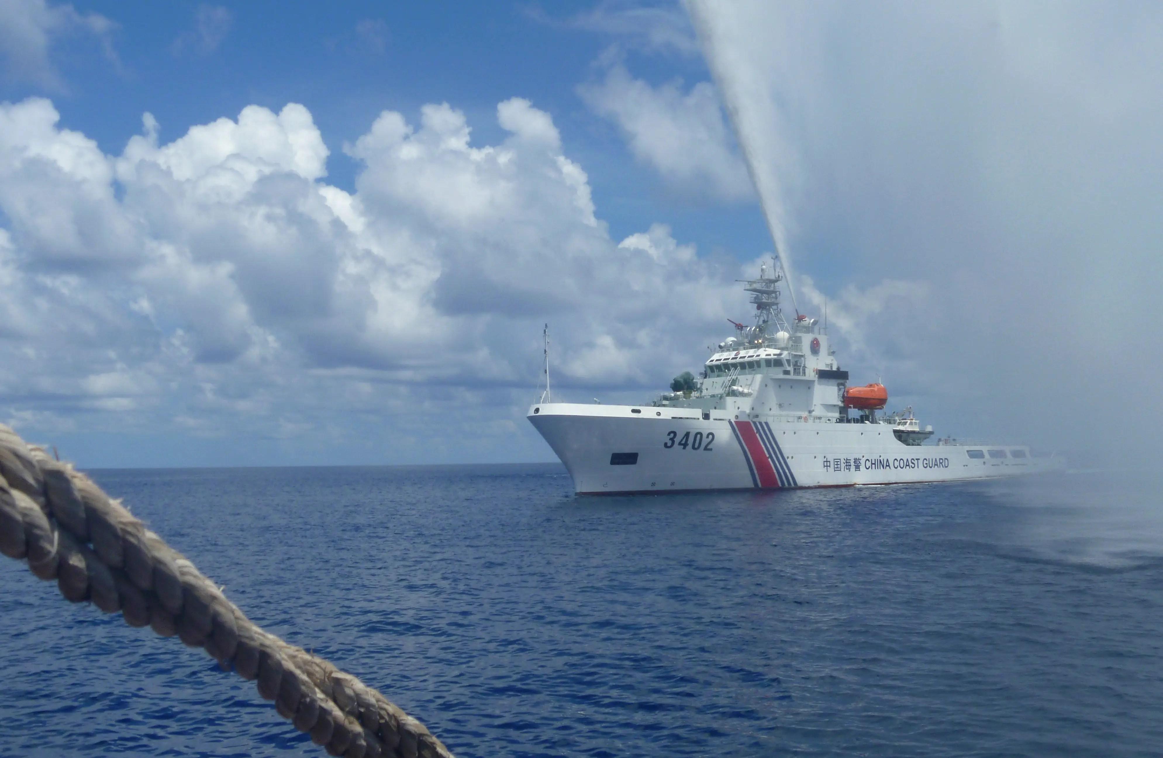 china coast guard scarborough