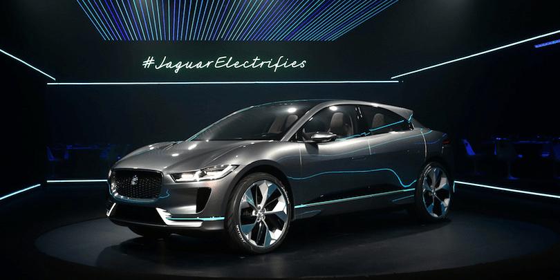 Jaguar Electric SUV Concept PHOTOS FEATURES Business