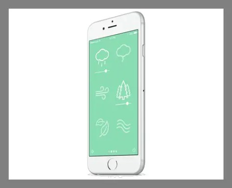 A white noise app